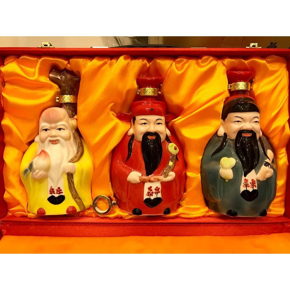 Bộ 3 bình đựng rượu sứ Tam Tiên Phúc Lộc Thọ - 3454013 , 722303704 , 322_722303704 , 780000 , Bo-3-binh-dung-ruou-su-Tam-Tien-Phuc-Loc-Tho-322_722303704 , shopee.vn , Bộ 3 bình đựng rượu sứ Tam Tiên Phúc Lộc Thọ