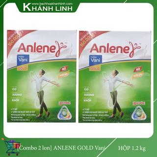 [ COMBO 2 Hộp] Sữa Bột Anlene GOLD Move Pro Hương Vani Hộp giấy 1.2KG , 40 Tuổi