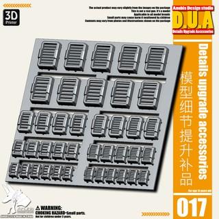 Phụ kiện mod ANUBIS – Chi tiết nhựa in 3D DUA017 chuyên dụng cho mô hình
