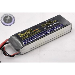 Pin Tiger 3s 11.1V 5400mah 30C