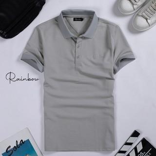 Áo thun có cổ, áo polo nam chính hãng Rainbow SPO001 chất liệu cotton thấm hút tốt , có size đại