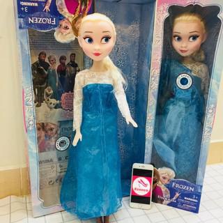 Búp bê Elsa 60cm siêu đẹp có nhạc Let it go và đèn