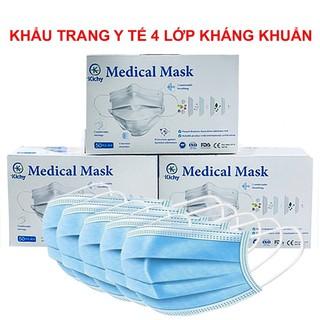 Khẩu trang y tế 4 lớp kháng khuẩn Kichy cao cấp thumbnail