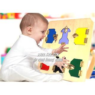 Bảng khóa – Giáo cụ Montessori