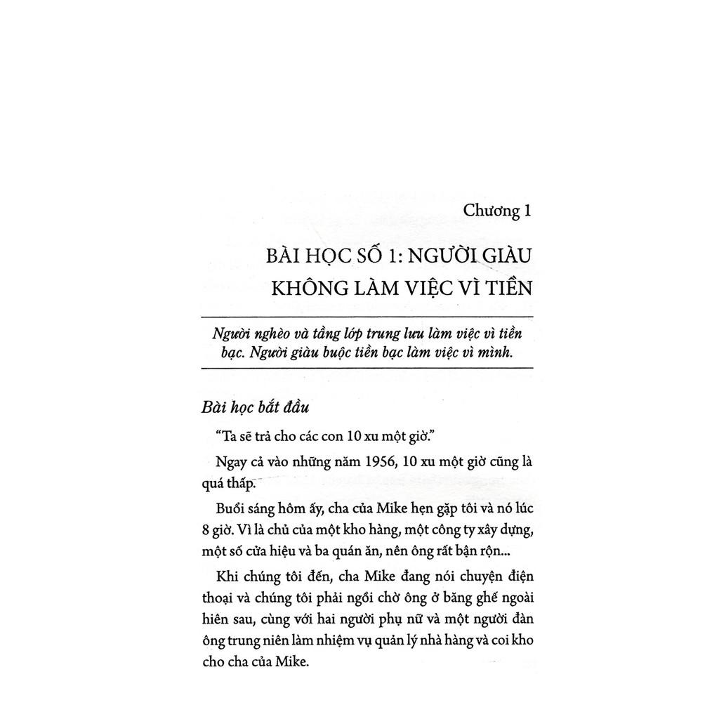 Sách - Dạy Con Làm Giàu (Tập 1) - Để Không Có Tiền Vẫn Tạo Ra Tiền
