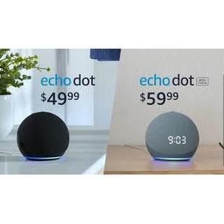 Amazon Echo Dot (4th Gen) Smart speaker with clock and Alexa – Loa Trợ Lý Ảo Amazon