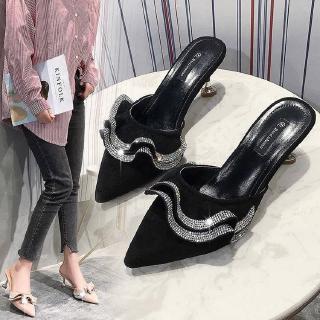 Giày Cao Gót Mũi Nhọn Thời Trang Hè 2020 Cho Nữ