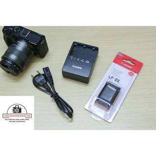 Sạc pin Canon LC E6E CAO CẤP cho pin canon Lp E6 dùng Canon 5DII , 5DIII , 6D , 7D, 70D, 60D