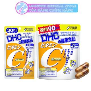 Viên Uống Tăng Sức Đề Kháng DHC Vitamin C Hard Capsule