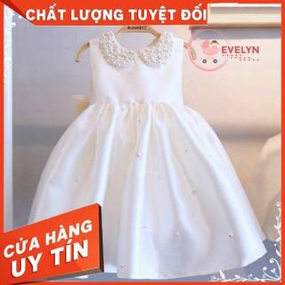 Đầm công chúa Evelyn Mã VF12 thời trang cho bé gái 0-9 tuổi mặc dự tiệc sinh nhật
