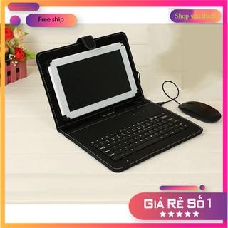 ⭐ Bàn phím chơi game, Bao da bàn phím kèm chuột có dây sử dụng cho điện thoại, ipad, máy tính bảng…(android) Kết nối O