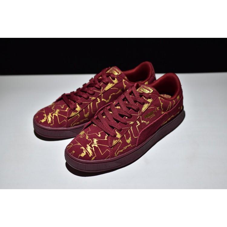 brand new 21133 3bafa Puma Suede Brush Emboss รองเท้าผ้าใบลำลอง 361504 03 - Puma Suede ...