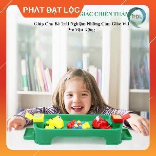[Qùa Tặng Cho Bé] Trò chơi ếch tranh ăn đậu – Phát Đạt Lộc – trò chơi dành cho bé 2-3 người, tăng khả năng vận động