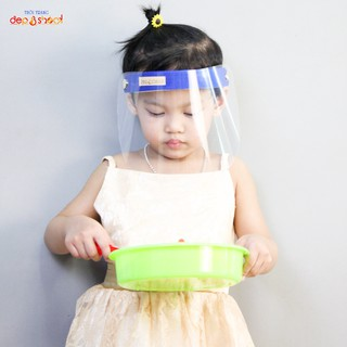Kính che mặt Baby trong suốt - chống dịch bệnh - chống giọt bắn - chống bụi bảo vệ sức khỏe thumbnail