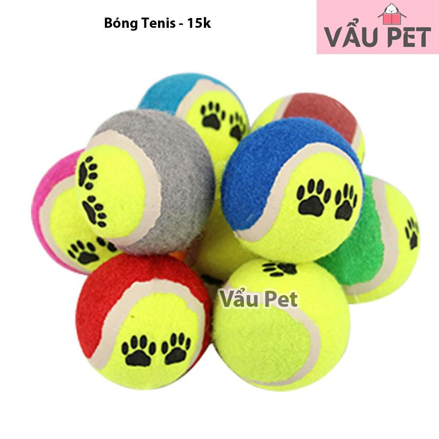 Bóng tenis đồ chơi cho chó mèo
