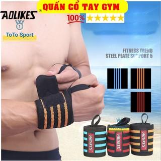 Đôi Dây Quấn cổ tay Aolikes phụ kiện tập gym cao cấp A1539 thumbnail