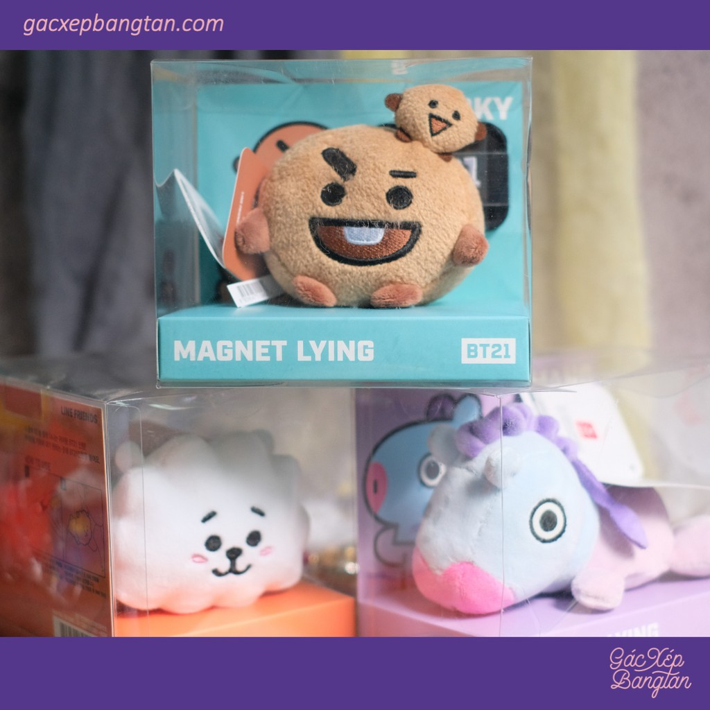 [ CÓ SẴN] – BT21 NAM CHÂM MAGNET LYING NEW OFFICIAL