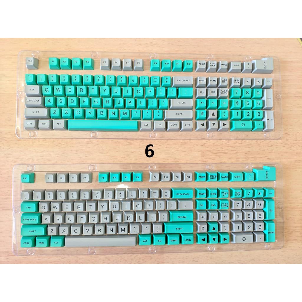 [Mã 267ELSALE hoàn 7% đơn 300K] Set Keycap profile SA nút bàn phím cơ nhiều phối màu