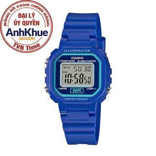 Đồng hồ nữ dây nhựa Casio Standard chính hãng Anh Khuê LA-20WH-2ADF thumbnail