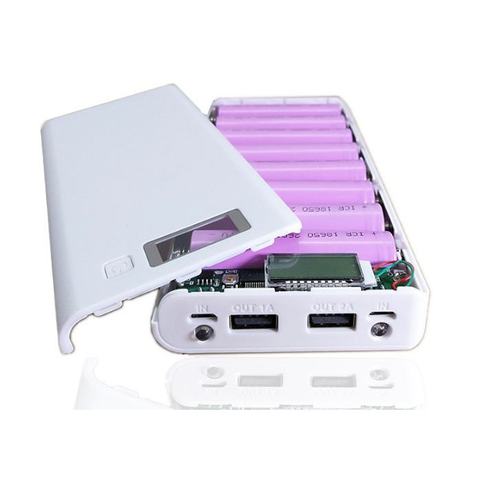 Box sạc dự phòng 8 pin có màn hình hiển thị % pin điện áp và dòng(không pin) - 3117727 , 1300937480 , 322_1300937480 , 129000 , Box-sac-du-phong-8-pin-co-man-hinh-hien-thi-Phan-Tram-pin-dien-ap-va-dongkhong-pin-322_1300937480 , shopee.vn , Box sạc dự phòng 8 pin có màn hình hiển thị % pin điện áp và dòng(không pin)
