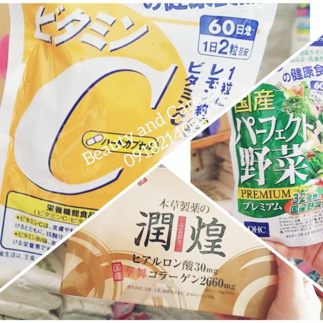 Combo kem trắng da vitamin C toàn thân