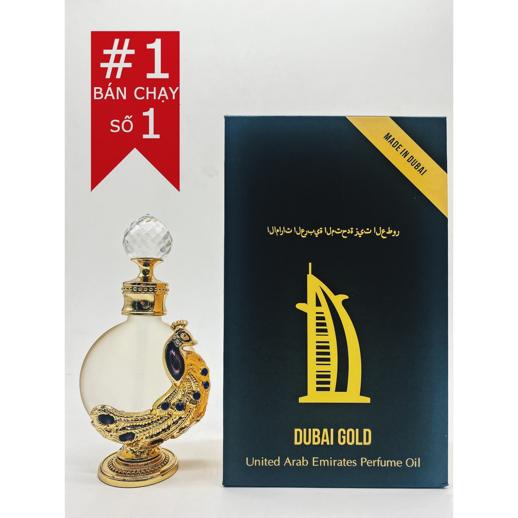 [Mã COSHOT24 hoàn 8% xu đơn 250K] Tinh dầu Dubai Royal hàng nội địa |Nhập khẩu chính ngạch| Chọn lựa 20 mùi