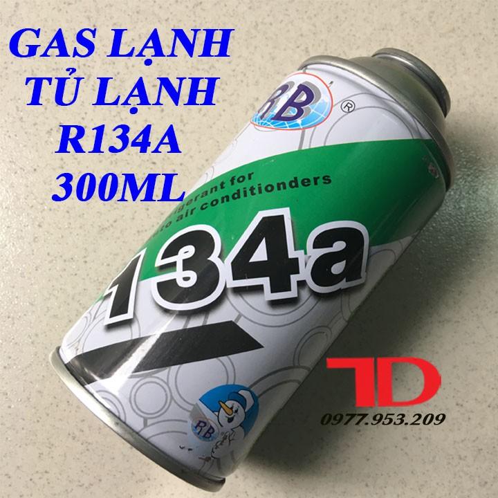 Gas Lạnh Tủ Lạnh R134a Lon 300ML
