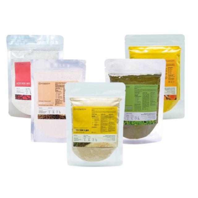 Combo 5 gói bột cám gạo, yến mạch, đậu đỏ, trà xanh và bột nghệ thiên nhiên Milaganics (100g/gói) - 2538557 , 372638425 , 322_372638425 , 220000 , Combo-5-goi-bot-cam-gao-yen-mach-dau-do-tra-xanh-va-bot-nghe-thien-nhien-Milaganics-100g-goi-322_372638425 , shopee.vn , Combo 5 gói bột cám gạo, yến mạch, đậu đỏ, trà xanh và bột nghệ thiên nhiên Milaga