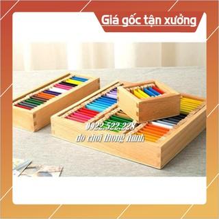 [Bán Giá Gốc] Bộ bảng màu 3 bảng – Giáo cụ Montessori
