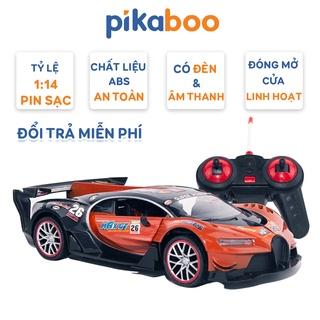 Ô Tô Đồ Chơi Trẻ Em Điều Khiển Từ Xa Có Pin Sạc Pikaboo tỉ lệ 1 14 thumbnail