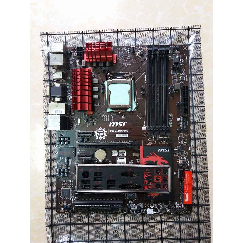 Main MSI B85 G43 Gaming 4 khe ram chuyên game - MSI B85-G43 Gaming ...