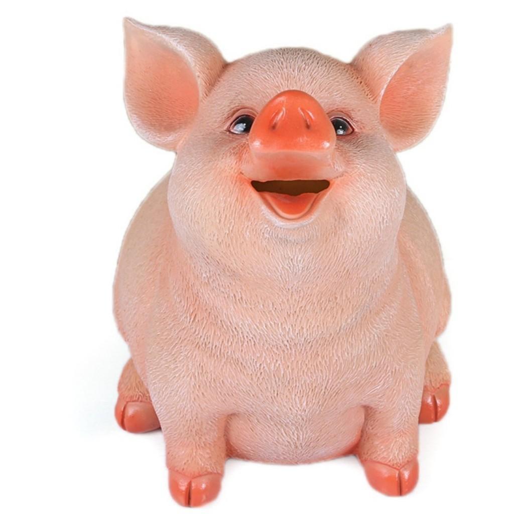Lợn (Heo) / Cún Tiết Kiệm Đút Tiền 5D Cao Cấp(Sứ) kute