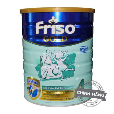Sữa bột Friso Gold 4 1.5kg( Date 2020 )