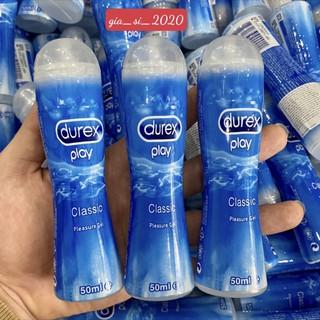 Gel bôi trơn tạo độ ẩm tự nhiên Durex Play Classic 50ml
