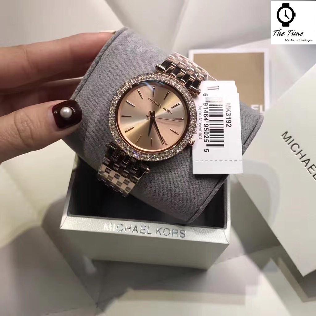 Đồng hồ nữ Michael Kors Authentic - Đồng hồ MK nữ Authentic MK3192.(26, 32, 38) các màu