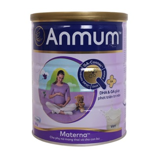 Sữa bột Anmum Materna hương Vani Chocolate lon 800g