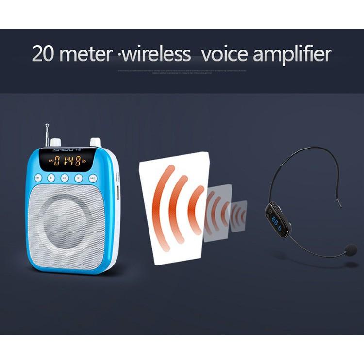 [Mã 267ELSALE hoàn 7% đơn 300K] Máy trợ giảng không dây SHIDU SD-S358 (FM)