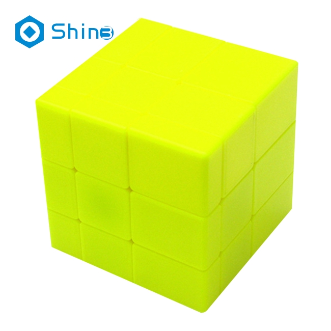 3x3x3 Mirror Cube Magic Speed Puzzles, ABS Ultra-smooth Professional Cube Smart Brain Teaser Toy Game Gifts