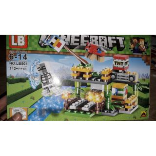 Lắp ráp Lego Minecraff 504 có nhiều chi tiết