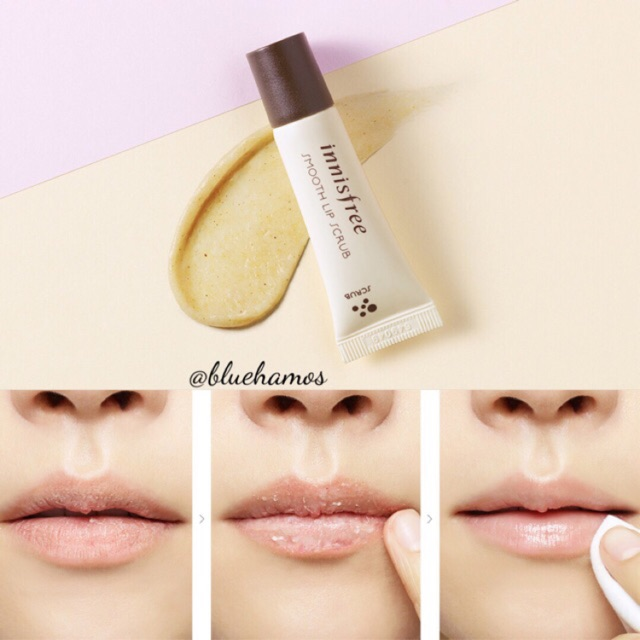 Tẩy tế bào chết môi Innisfree smooth lip scrub - 2461202 , 145891105 , 322_145891105 , 90000 , Tay-te-bao-chet-moi-Innisfree-smooth-lip-scrub-322_145891105 , shopee.vn , Tẩy tế bào chết môi Innisfree smooth lip scrub