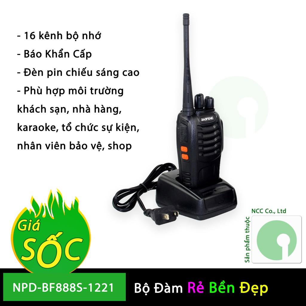 01 máy bộ đàm Baofeng BF-888s nhỏ gọn giá rẻ hợp du lịch phượt , nhà hàng, Karaoke, tổ chức sự kiện - 3174252 , 1288278064 , 322_1288278064 , 299000 , 01-may-bo-dam-Baofeng-BF-888s-nho-gon-gia-re-hop-du-lich-phuot-nha-hang-Karaoke-to-chuc-su-kien-322_1288278064 , shopee.vn , 01 máy bộ đàm Baofeng BF-888s nhỏ gọn giá rẻ hợp du lịch phượt , nhà hàng, K