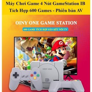 Máy Chơi Game 4 Nút 2 Tay Cầm Dây Dài- Máy Chơi Game Cổng AV Có Sẵn 600 Game, Hỗ Trợ Mọi Tivi thumbnail