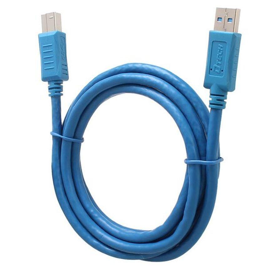 USB máy in DTECH 3.0 CU 0122 - 1.8M (Xanh)