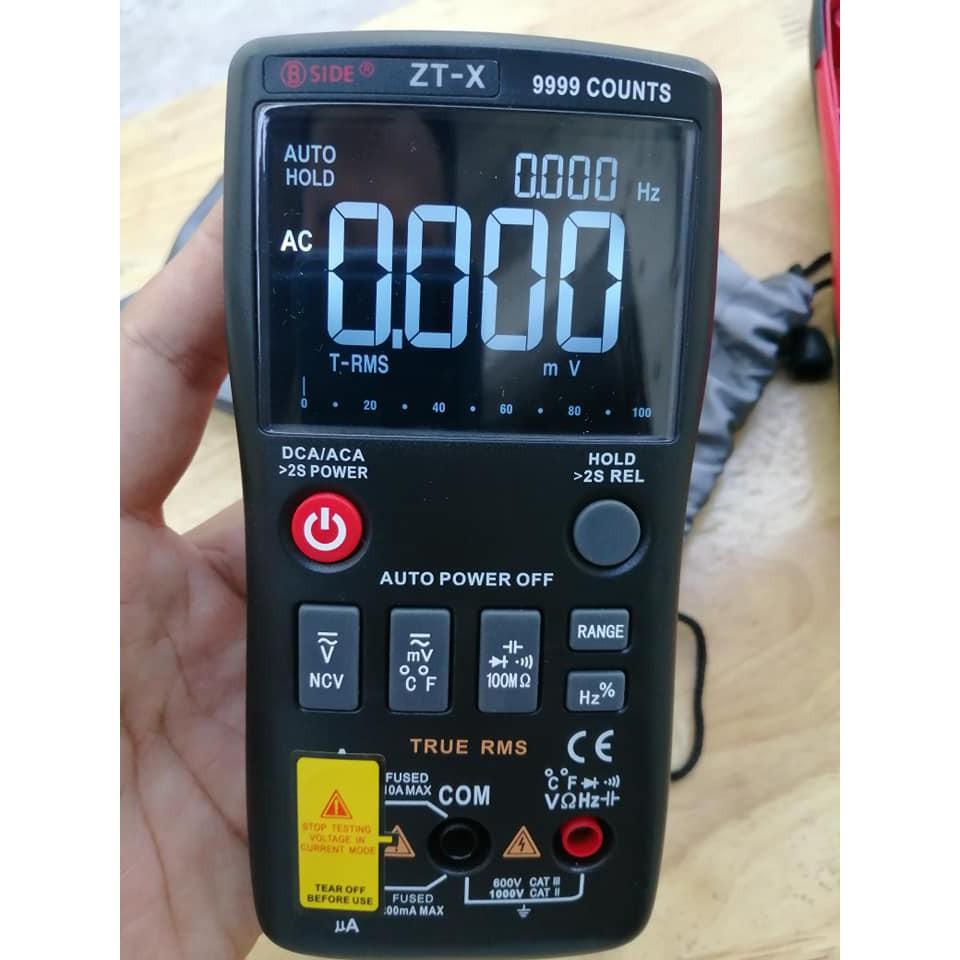 đồng hồ vạn năng đo linh kiện điện tử màn LED sáng đổi mầu