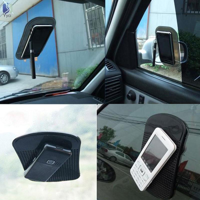 Thảm chống trượt trải bảng điều khiển xe hơi để điện thoại iPhone 4G 4S / iPod