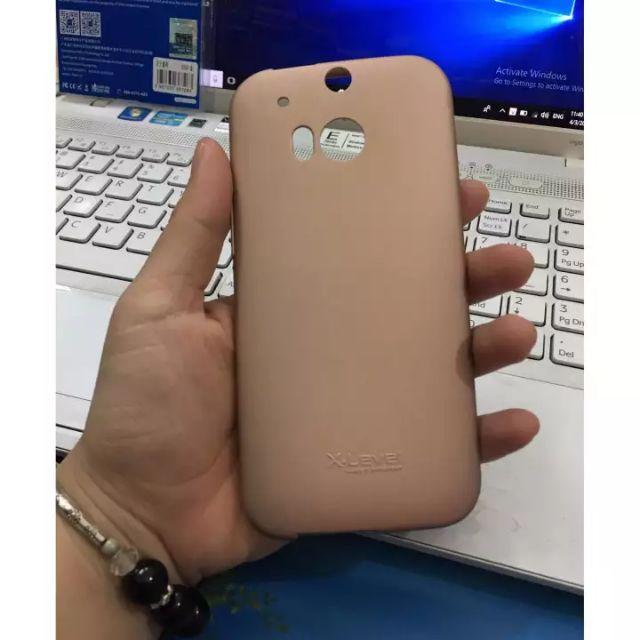 Ốp dẻo xlevel màu cho HTC M8