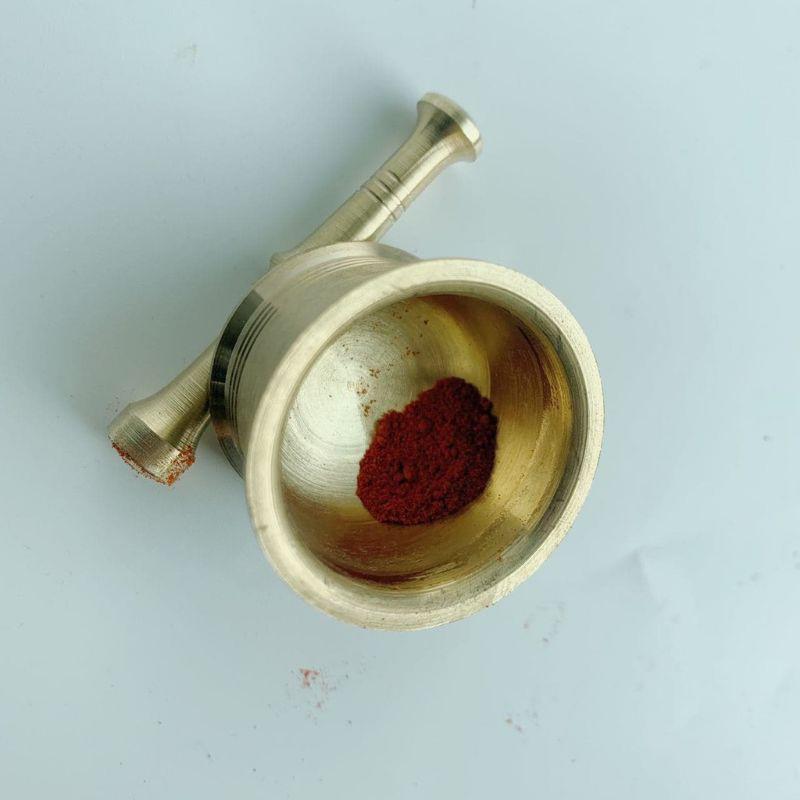 [Quà tặng] Bộ cối nghiền nhụy hoa nghệ tây Saffron