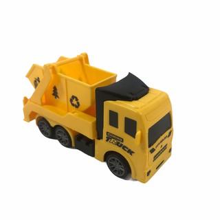 Đồ chơi xe ô tô tải dành cho bé size nhỏ cứng cáp có bánh đà mạnh mẽ, siêu ưu đãi 4