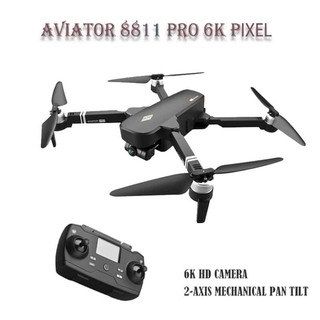 Flycam Aviator 8811 Pro - gimbal 2 trục camera 6K