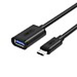 [Mã ELFLASH5 giảm 20K đơn 50K] Cáp Chuyển USB Type-C Ra USB Unitek Y476BK (0.2m) - Hàng Chính Hãng